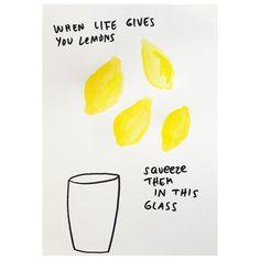 Not Half Full, Not Half Empty - Just Lagom #whenlifegivesyoulemons #lagom