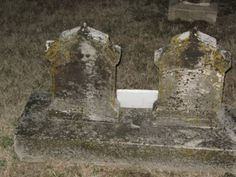 One evening after visiting my mom's gravesite with my sister, our headlights on as it was right before dark, we saw something strange. We stopped the car and got out only to see it was how the moss had grown on this headstone over the years to resemble a mans face! I have went back many times and you can always see it. Creepy!