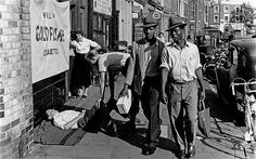 Latimer Road, North Kensington, 1957. Photo by Roger Mayne