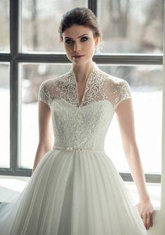 c62050bd8a518 Ivory lace wedding gown white blush boho wedding gown elegante modern tulle wedding  dress sleeve boh