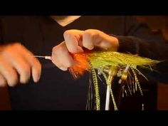Flytying: tube fly for pike - YouTube
