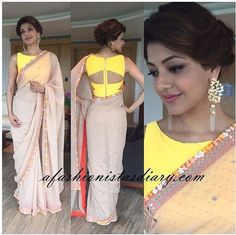 The beauty of a blouse is in its styling. That's when I stumbled upon these beautiful blouse back neck designs. check out the latest blouse designs. Blouse Back Neck Designs, Fancy Blouse Designs, Sari Blouse Designs, Blouse Styles, Lehenga Choli, Anarkali, Sarees, Indian Blouse, Indian Wear