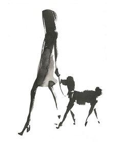 Aurore de La Morinerie : Agent & Artists Plus Art Mural Fashion, Fashion Painting, Fashion Art, Illustration Photo, Watercolor Illustration, Watercolor Paintings, Painting People, Drawing People, Galerie Saatchi