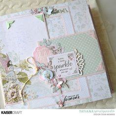 Fairy Garden album by Tatiana Yemelyanenko - Kaisercraft Official Blog