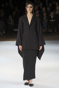 See the Yohji Yamamoto autumn/winter 2015 collection