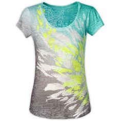 Women's Shirts Sweaters WOMEN'S TADASANA SUN RISE TEE ($45) found on Polyvore