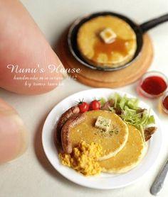 Mini delicious breakfast