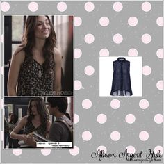 "Allison Argent Style » Season 1 Episode 3 ""Pack Mentality"""