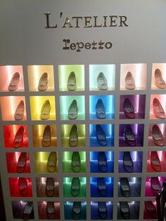 L'Atelier REPETTO. The colors, Duke, the COLORS!!!