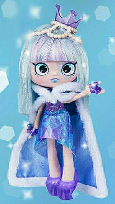 Shopkins Exclusive Mandy Mandarin Purple Glitter Combined Post