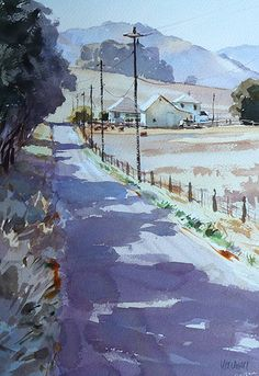 Mike Kowalski - Portfolio of Works: Watercolor paintings