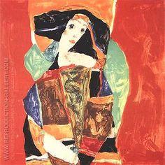 Egon Schiele, Portrait of a Woman (Valerie Neuzil) 1912