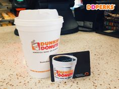 Get rewarded for every Dunkin' run! Sign up for DD Perks Rewards and get a FREE medium beverage when you join. Click pin to enroll!