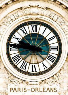 62e50b44229 Digital Musings of Paris — Paris-Orleans Relógio Ao Ar Livre