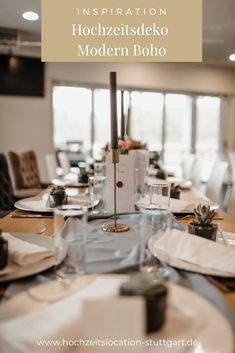 Modern Boho Hochzeitstischdekoration Table Settings, Inspiration, Table Decorations, Modern, Home Decor, Biblical Inspiration, Trendy Tree, Decoration Home