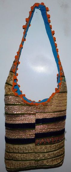 b2ca8e4b3d INDIAN JHOLA BAG LADIES CROSS BODY BAGS TOTE BAG HANDBAGS EASY TO CARRY  LB35  Handmade  ShoulderBags