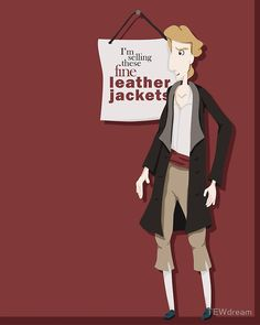 """Fine Leather Jackets"" Greeting Cards & Postcards by TEWdream 