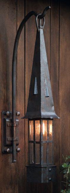 Wandlaterne aus Schmiedeeisen WL 3648 von Robers - Außenleuchten