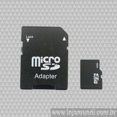 Cartão de Memória MicroSD 4 Gb