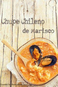 Vuelta al Mundo en 80 Recetas: 20-CHILE: Chupe de marisco