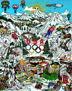 "Olympic Games, 2002 - Salt Lake City, UT24"" x 30"""