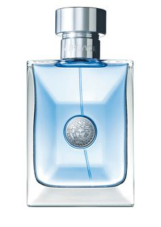 Pour Homme 100 ml from Versace Men's Collection. Eau de toilette natural spray 100 ml. Diamante Citrus, Bitter Orange leaves and Neiroli flowers light up the fragrance with Mediterranean accents. Perfume Versace Hombre, Versace Perfume For Men, Perfumes Versace, Versace Men, Versace Store, Versace Fragrance, Aftershave, Perfume Collection, Men's Collection