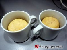 Muffins των 5 λεπτών για πρωινό #sintagespareas Recipe Images, Cheeseburger Chowder, Muffins, Brunch, Low Carb, Soup, Tasty, Snacks, Mugs