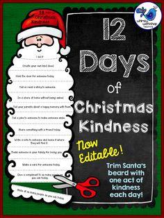 Twelve Days of Christmas Kindness