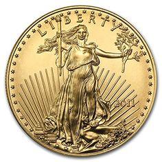 2011 1 oz Gold American Eagle BU 1 OZ Brilliant Uncirculated >>> For more information, visit image link.