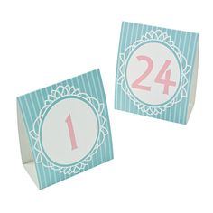 Vintage Table Numbers  Vintage Style Table by WeddingStuffNThings
