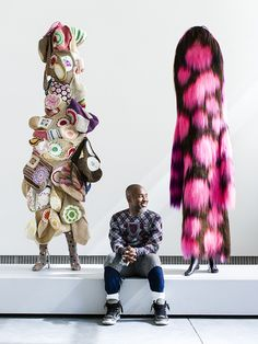 Nick Cave's Fabric Sculptures. - Art is a Way