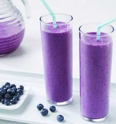 Bursting with flavor and a terrific choice for breakfast or a snack; this Blueberry-Pomegranate Smoothie is also a great way to get the antioxidants your body needs each day.