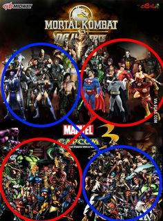 They give us every possible fighting game crossover... except the ones we really want    seriously