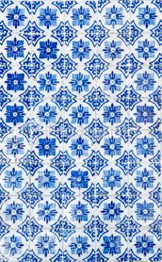 Portuguese Tile inspiration Blue + White #colorcombination #forloveofcolor