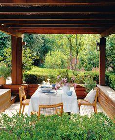 Modern pergola#gardendesign#outdoorliving #outdoorspaces