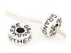 """Antique Silver """"Grandmother"""" Charm"""