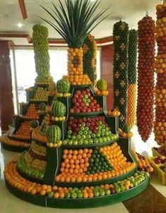 Amazing fruit display