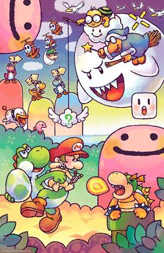 Yoshi's Island, the best mario´s game Super Mario Bros, Mundo Super Mario, Super Mario World, Super Mario Brothers, Super Smash Bros, Yoshi, Super Mario Tattoo, Wallpaper Nintendo, Metroid
