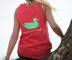 Southern Marsh Collection — Authentic Tank Top http://www.dixiepickersstore.com/