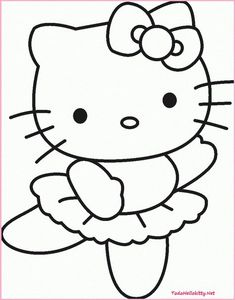 Hello Kitty Corazon Dibujos Para Colorear Para Ninos Drawing Tips