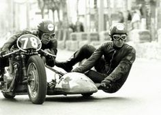 Motorcycle sidecar racing