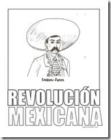 zapata revo 1 coloring pages mexican revolution historical figures