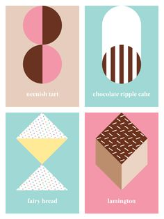 'Australian sweets' notebook range by Saskia Ericson. Shortlisted for the Hardie Grant Stationery competition. I would LOVE your vote (link provided). Thank you!
