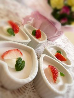 Strawberry mousse❤