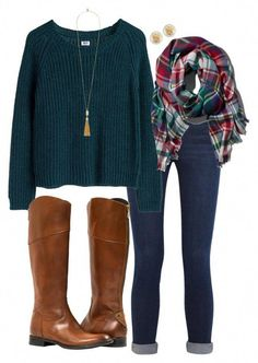 Fall Flair // Robin A fashion look from August 2015 by southern-prep-gals featuring Frame Denim, Tory Burch, Vince Camuto, Abercrombie & Fitch and MTWTFSS Weekday Preppy Outfits, Mode Outfits, Fashion Outfits, Preppy Fall Outfits Southern Prep, Fashion Ideas, Fall Winter Outfits, Autumn Winter Fashion, Fall Outfits For Teen Girls, Winter Style