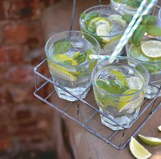Make this delicious mojitos on a hot day