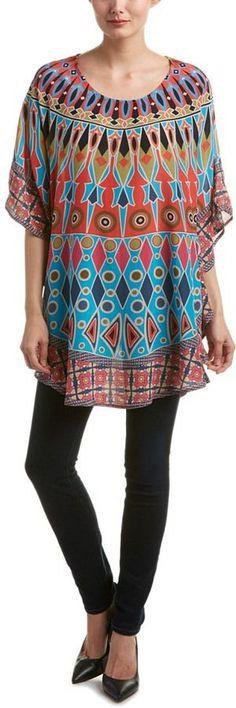 Tolani Narissa Silk Tunic Dress