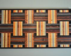Weaved wall art