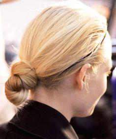 DIY Hairstyles from Fashion Week F'14