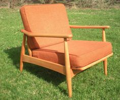 Vintage Mid Century Modern Lounge Arm Chair